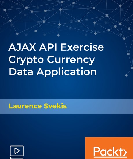 Packtpub - AJAX API Exercise Crypto Currency Data Application