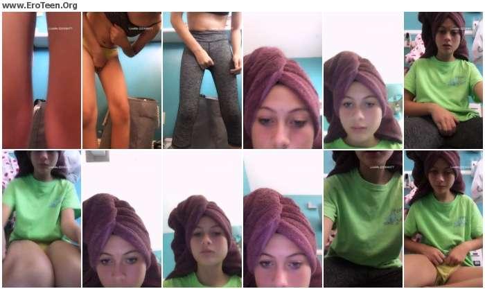 fb9e841020296354 - Pretty Skinny Cute Teens Home Sex Selfie Video 19