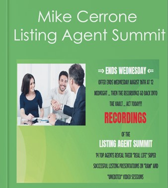 Mike Cerrone - Listing Agent Summit