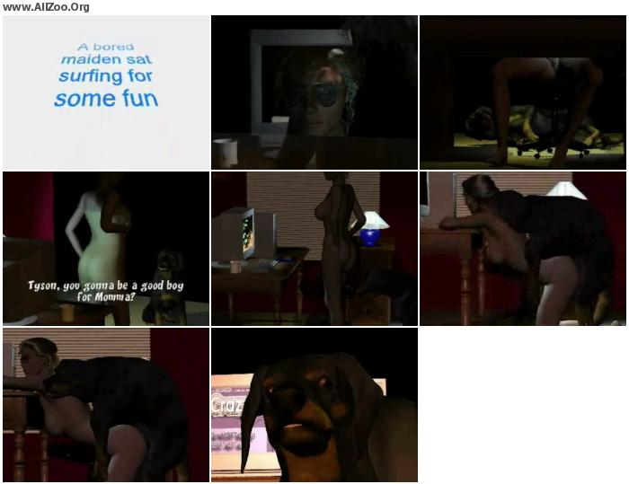 9045c2951512844 - Dog Girl Mount 013 - HomeMade Private ZooSex Video