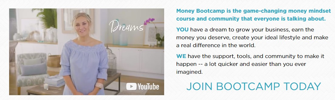 Denise Duffield Thomas Lucky Bitch Money Bootcamp 2017