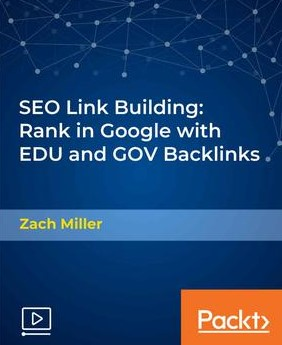 Packt SEO Link Building Rank in Google with EDU and GOV Backlinks