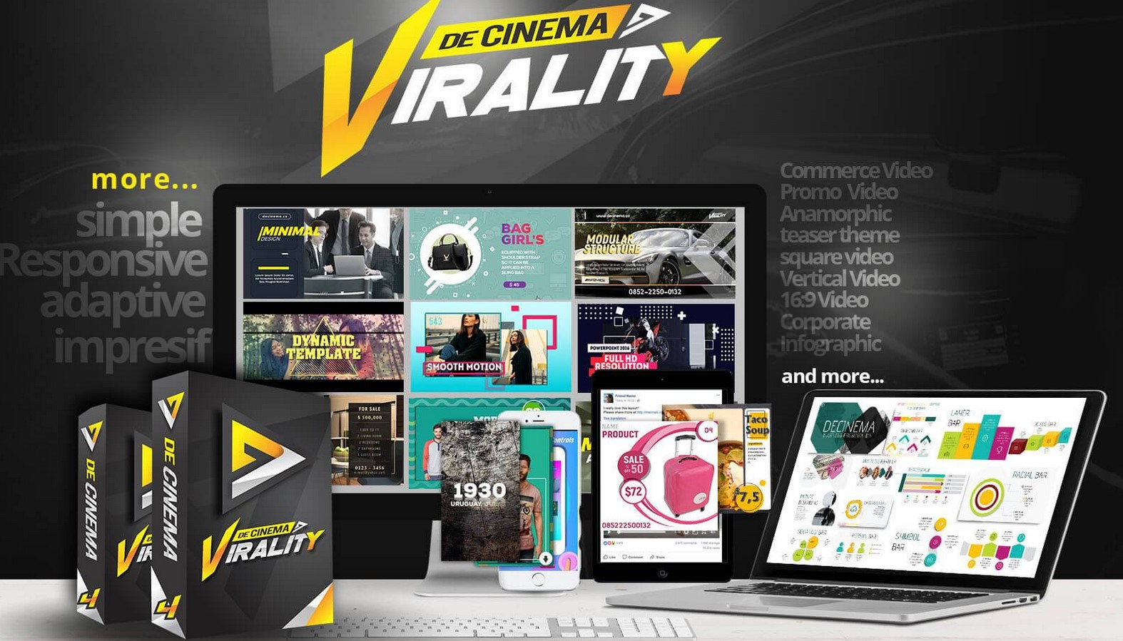 Decinema VIRALITY + Premium Version(2018)