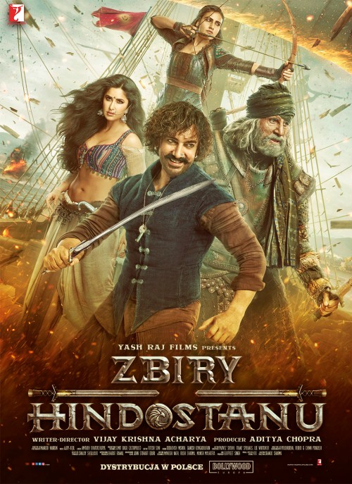 Zbiry Hindostanu / Thugs of Hindostan (2018)  PL.SUBBED.BRRip.Xvid-MORS / Napisy PL wtopione