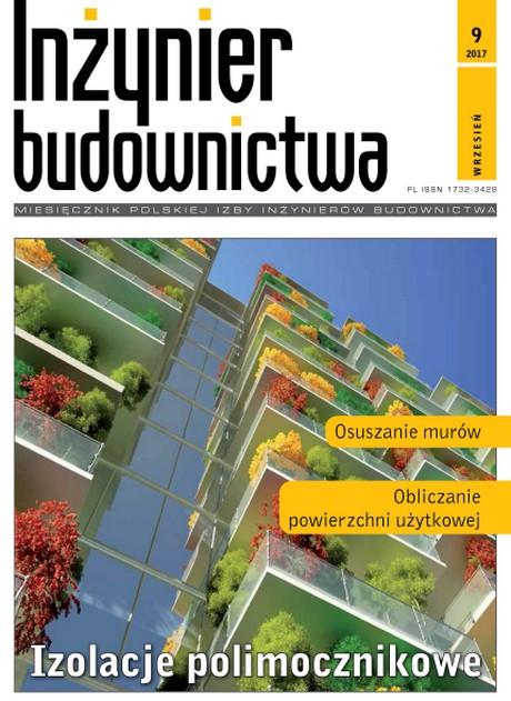 Inżynier Budownictwa 09/2017