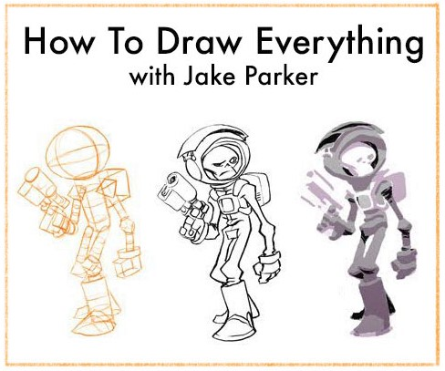 Jake Parker How to Draw Everything