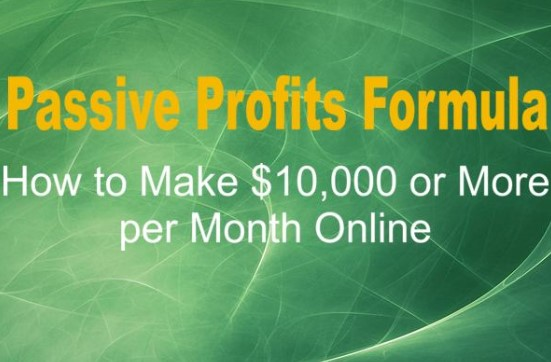 Passive Profits Formula by Adam Short