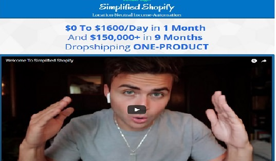 Scott Hilse - Simplified Shopify Dropshippingg