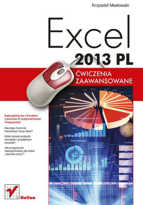 Excel 2013 PL - Ćwiczenia Zaawansowane - Krzysztof Masłowski