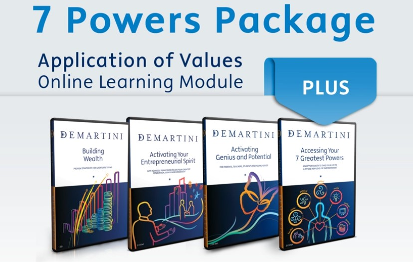 John Demartini - 7 Powers Package - Learn Online