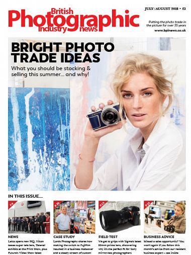 British Photographic Industry News – July/August 2018