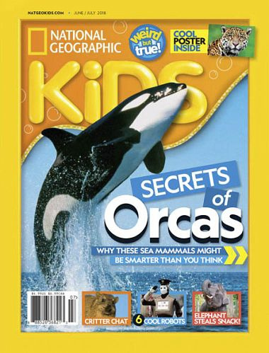 National Geographic Kids USA – June 2018
