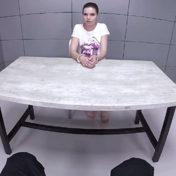 Sarah Smith - Sexy Blonde is Fucked in an Interrogation Room (2018) 1080p