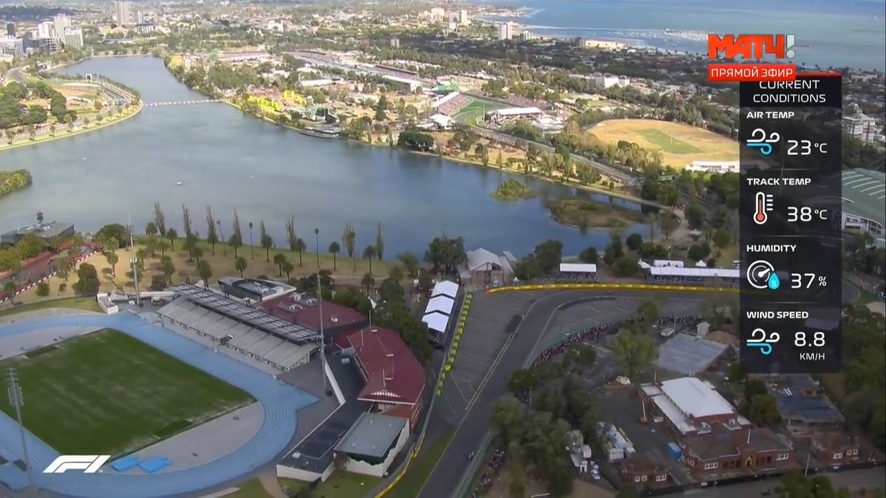 Формула 1. Гран-при Австралии (1 этап: Гонка) (2018) HDTVRip 720p