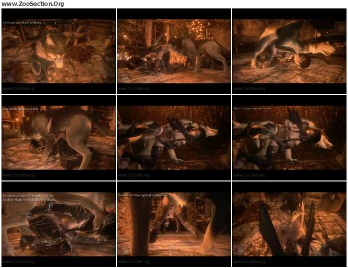 f2972a1074214794 - [Skyrim] Elf girl knotted HD - Naughty Machinima 2 [Anime / Hentai]