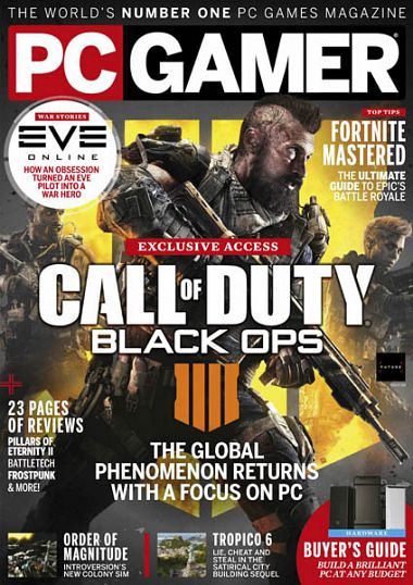 PC Gamer UK – July 2018