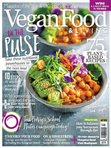 Vegan Food & Living – October 2018