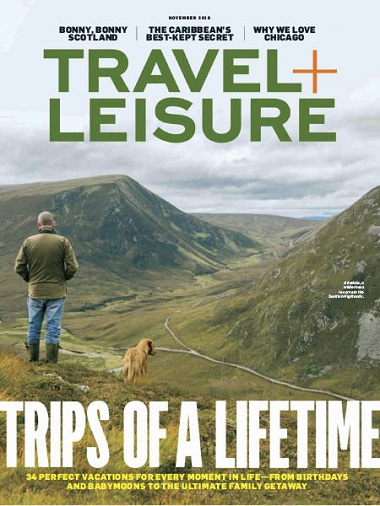 Travel+Leisure USA – November 2018