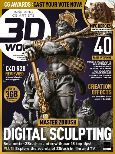 3D World UK – November 2018