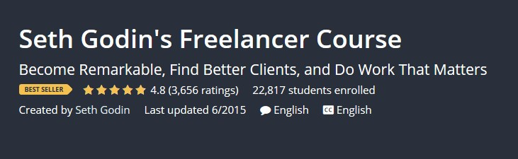 Seth Godin's Freelancer Course(2018)