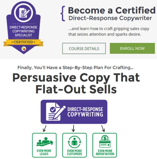 Pam Foster - Direct Response Copywriting Certification Course