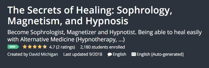 The Secrets of Healing: Sophrology, Magnetism, and Hypnosis - David Michigan