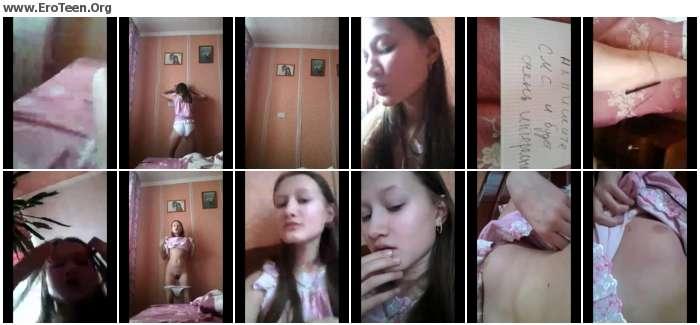 0d98721020272734 - Beautiful Cute Teenage Schoolgirl Selfie Video 01