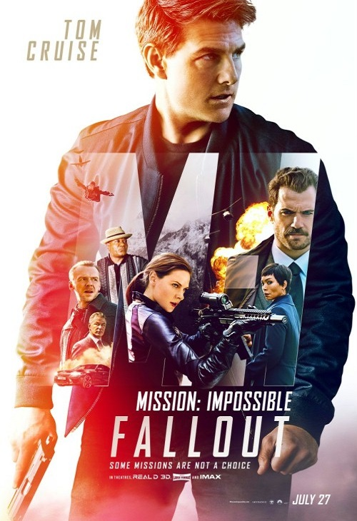 Mission: Impossible - Fallout (2018)  PL.SUBBED.HC.HDRip.Xvid-MORS / Napisy PL wtopione