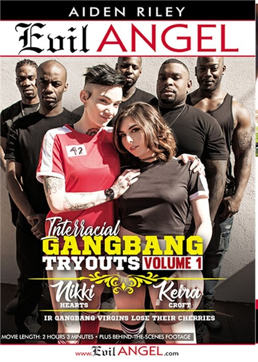 Межрасовые Пробы В Групповухе Часть 1 / Interracial Gangbang Tryouts Volume 1 (2018) HD 720p
