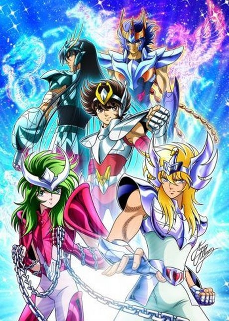 Rycerze Zodiaku / Saint Seiya - Serial  [1986-2015/HD/MP4 / Napisy PL ]
