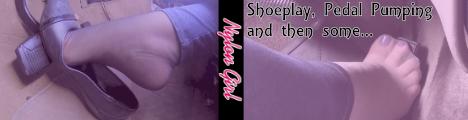 Shoeplay Fantasies by NylonGirl