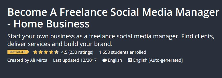 Become A Freelance Social Media Manager Home Business