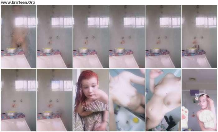 aafa881020290874 - Beautiful Cute Teenage Schoolgirl Selfie Video 19
