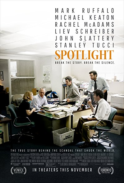 Spotlight 2015 BRRip XviD MP3-XVID