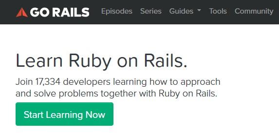 GoRails com Screencasts for Ruby on Rails Developers