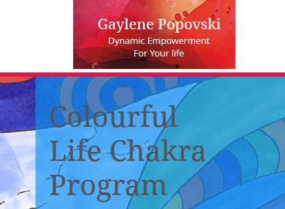 Colourful Life Chakra Program - Gaylene Popovski