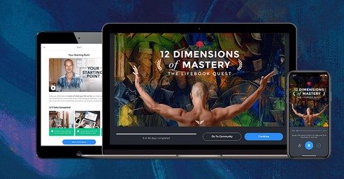 MindValley – 12 Dimensions of Mastery (LifeBook Challenge)(fix)