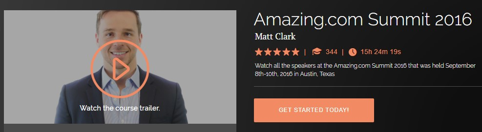 Matt Clark - Amazing.com Summit 2016