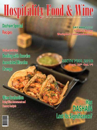 Hospitality Food & Wine – September 2018