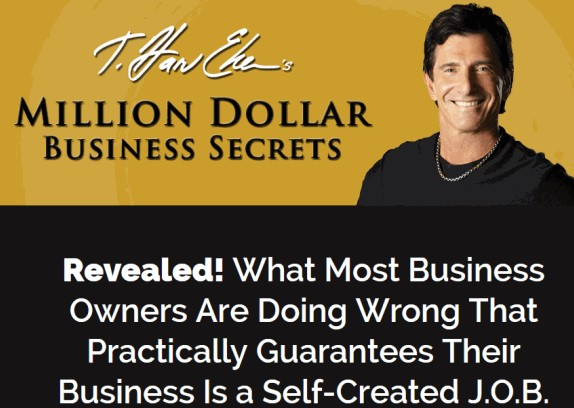 T. Harv Eker - Million Dollar Business Secrets