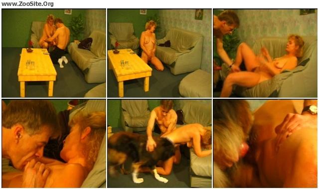 f53eb71197982414 - COUPLE PERVERSION DOG - Animal Porn Movie