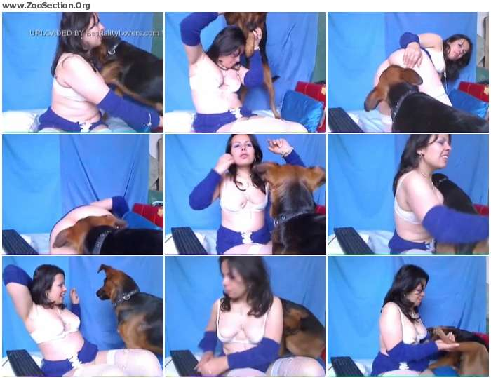 ae26541012954914 - Amateur Webcam Lady And Dog 2 / Stickam ZooSex