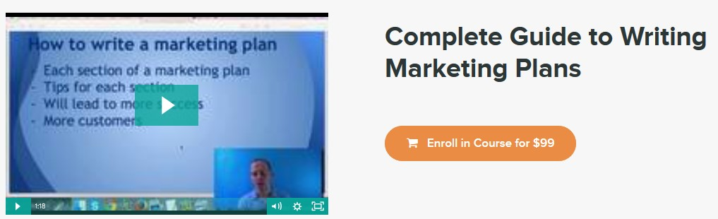 Complete Guide to Writing Marketing Plans  - Stone River eLearning