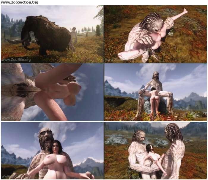 e8496e1074216274 - Giant Tries Human Pussy - Skyrim - Naughty Machinima 2 [Anime / Hentai]