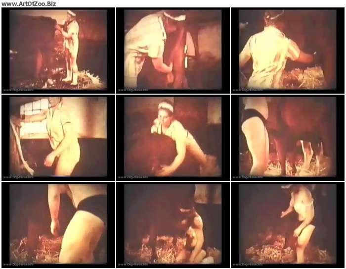 4157d51066039894 - Bodil Joensen - Horse Lovers - Vintage Zoo Porn