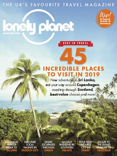 Lonely Planet Traveller UK – January 2019