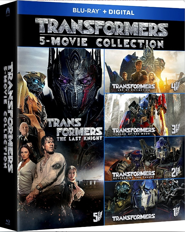 Transformers 5-Movie Collection 2007-2017 Blu-ray 1080p IMAX-HighCode