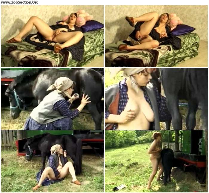 1ae2801250320734 - Bfi - Naughty Pony Girl - Horse Porn Video