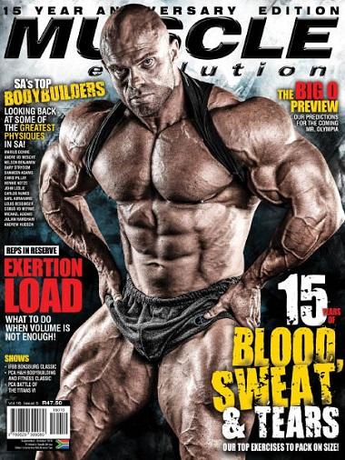 Muscle Evolution – October/November 2018