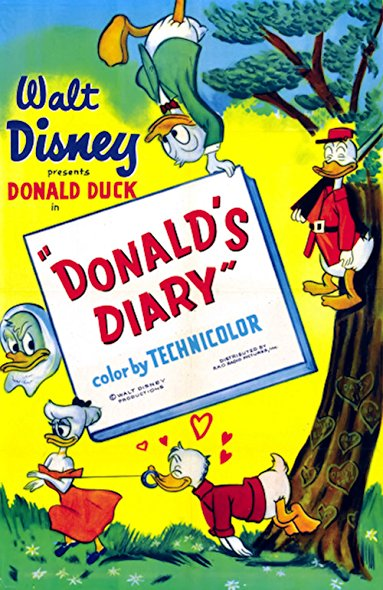 Donald's Diary 1954 DVDRip x264-HANDJOB